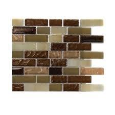 Comfort Colors Brick Splashback Tile Southern Comfort Brick Pattern 1 2 In X 2 In