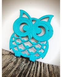 cooking gifts for mom amazing shopping savings turquoise owl trivet hostess gift