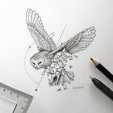 lovely half geometrical drawings of wild animals wild animals