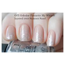 opi gelcolor pirouette my whistle opi from tailormade nails uk