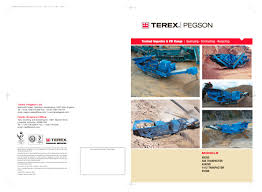 powerscreen xh320 u0026 xh320sr impactor crusher brochure