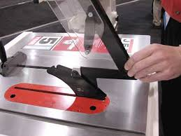 bosch safety table saw riving knives report from awfs 2007 popular woodworking magazine