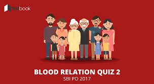 advance level blood relation quiz sbi po 2017 testbook blog