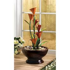 wholesale calla lily water fountain at koehler home decor