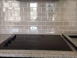 Kitchen Backsplash Dark Cabinets Kitchen Dark Gray Backsplash Grey Subway Tile Backsplash With