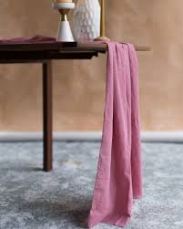 Raw Edge Table by Raw Edge Table Runners U2013 Chrysq Handcrafted