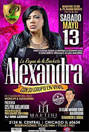 Alejandra Organizer by Alejandra U2013 La Reina De La Bachata Con Su Grupo En