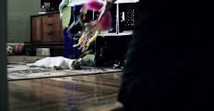 cat running into glass door the night of u0027 five cat theories indiewire