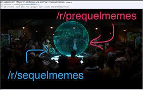 reddit is engaged in a highly entertaining star wars meme war