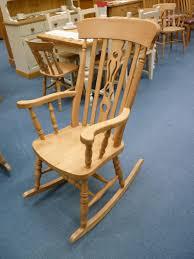 Oak Rocking Chair Uk Slat Back Grandfather Chair The Rocking Chair Ltd