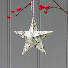 ornaments origami tree ornaments paper