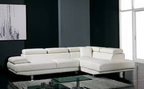 Modern Sectional Sofa Bed by Divani Casa T60 Modern Leather Sectional Sofa Living Room