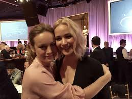 emma stone and jennifer lawrence friends brie larson told about her friendship with jennifer lawrence and