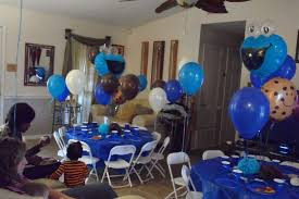 cookie monster table decorations cookie monster 1st birthday party ideas photo 8 of 11 catch my party
