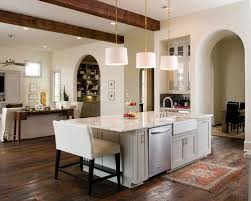 sink island kitchen farm sink on island houzz