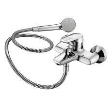 standard ceramix blue bath shower mixer wall mounted single lever ideal standard ceramix blue bath shower mixer wall mounted single lever exposed non thermostatic chrome