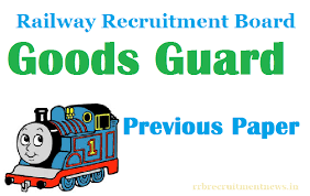 exam pattern of goods guard rrb goods guard previous papers model papers in hindi pdf download