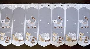scheibengardine küche katzen scheibengardine in 7 breiten kätzchen kindergardine