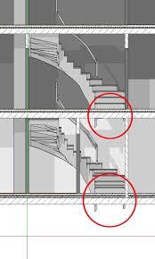 halbgewendelte treppe konstruieren allplan forum halbgewendelte treppe unterbau durchdringt decke