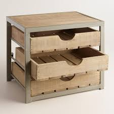 Diy Desk Drawer Desk Storage Drawers 2018 Wholesale Zakka Wood Four Drawer Storage