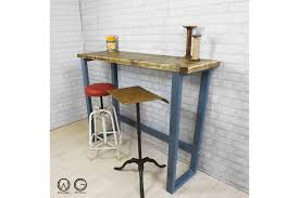 bar height table industrial vintage industrial reclaimed rustic timber mid century farm
