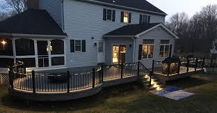 7 benefits of outdoor deck lighting my deck