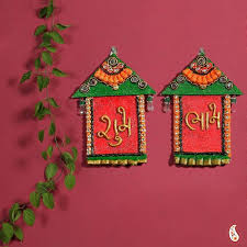 Temple Decoration Ideas For Home Diwali Wall Decoration Shenra Com