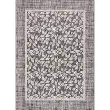 Grey Outdoor Rugs Gray Silver Outdoor Rugs You Ll Wayfair