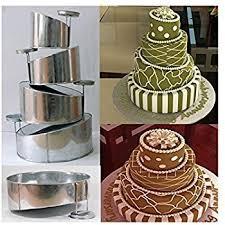wedding cake pans tins multi layer cake pans topsy turvy 4