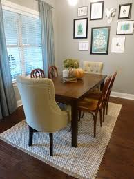 Dining Room  Inspirations Dining Room Table Rug Size Dining Room - Carpet in dining room