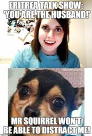 overly attached girlfriend with boyfriend s response meme generator