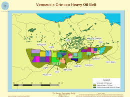Venezuela World Map by The Upstream Oil And Gas Industry In Venezuela