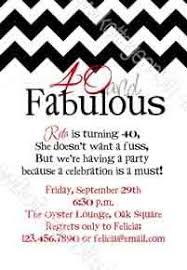40th birthday invitation wording funny images invitation design