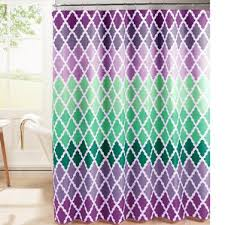 Purple Shower Curtain Sets - amazing purple and turquoise shower curtain contemporary best