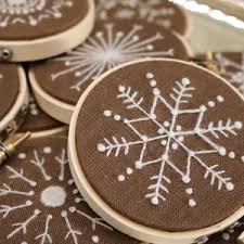 wool hoop crewel embroidery kits