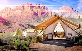 Zion National Park Thanksgiving Get 30 Off A 4 Night Stay In A Glamping Tent Near Zion National