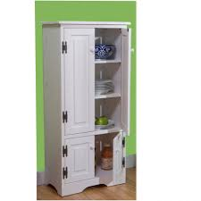kitchen pantry furniture shelving unit with doors wall storage