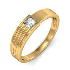 wedding rings gold wedding ring band for him in white gold jeenjewels