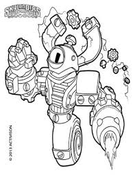 skylanders swap force magna charge coloring pages all free
