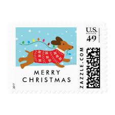 christmas postage custom holiday postage zazzle