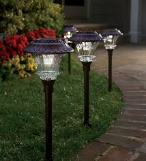 solar garden path lights plow hearth solar path lights review 50 gift card giveaway