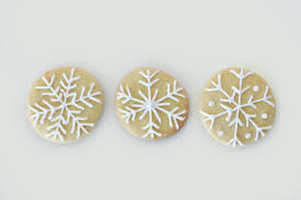 how to make snowflake christmas cookies pear tree blog