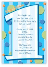 twins first birthday invitations marialonghi com