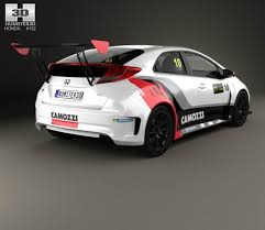 honda car models honda civic type r tcr 2015 3d model hum3d