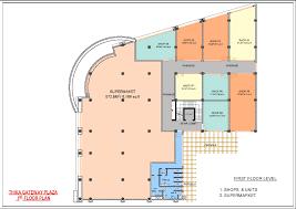 Supermarket Floor Plan by 1st Floor Layout Thika Gateway Point