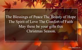 the blessings of peace the of the spirit of the