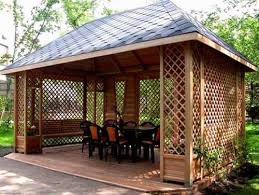 Patio Gazebo Ideas Wooden Gazebo Design Ideas Simple Home Architecture Design