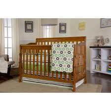 Hton Convertible Crib Wm 200 Pecan On Me Ashton Convertible 5 In 1 Crib Pecan