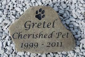 pet memorial stones pet memorial garden stones personalized home outdoor decoration