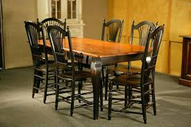Pine Drop Leaf Table And Chairs Dining Table Cream Painted Dining Room Chairs Large Size Tables